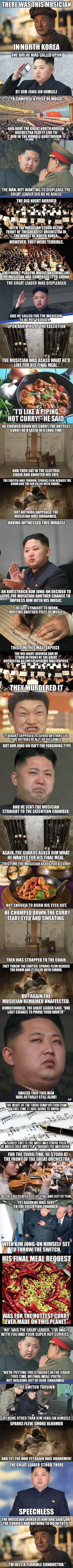 Kim Jong-Un versus Musician