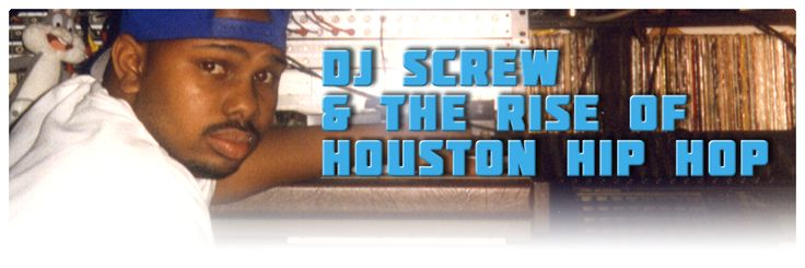 """DJ Screw (Robert Earl Davis Jr., 1971-2000) was the originator of the """"chopped and screwed"""" genre of production that helped define the Houston hip hop sound. On hundreds of thousands of underground mixtapes distributed throughout Houston and the South in the 1990s, he slowed down tracks, repeated key words and phrases, and showcased some of Houston's best freestylers. Rappers including the Botany Boys, Fat Pat, Lil' Keke, HAWK, ESG, Big Moe, and Big Pokey all got their starts on """"screw…"""