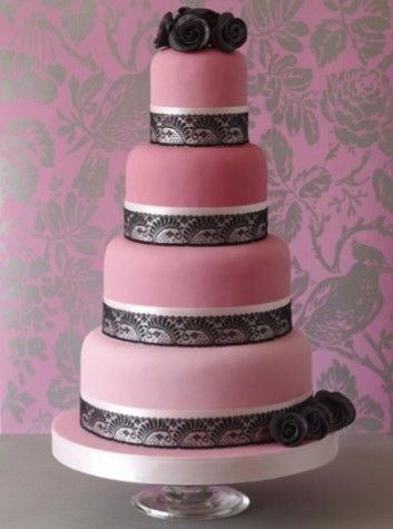 Beautiful vintage #wedding #cake from The Abigail Bloom Bakery
