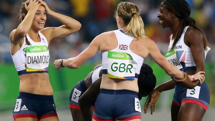 Women's 4x400m squad win bronze for GB's 66th medal in Rio