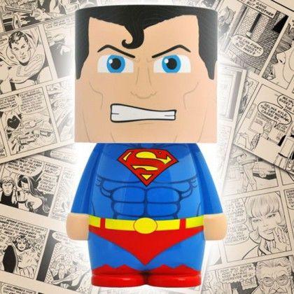 Cadeau déco : lampe Look Alite Superman pour geek sur Rapid-Cadeau
