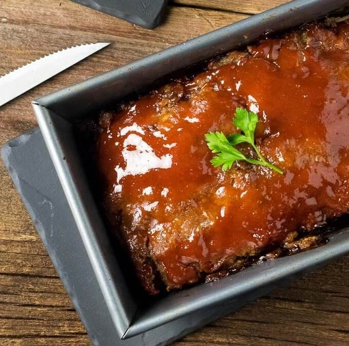 Brown Sugar Meatloaf This exceptionally tender Brown Sugar Meatloaf is loaded with the rich flavor of Worcestershire and French onion and painted with a sweet brown sugar glaze!