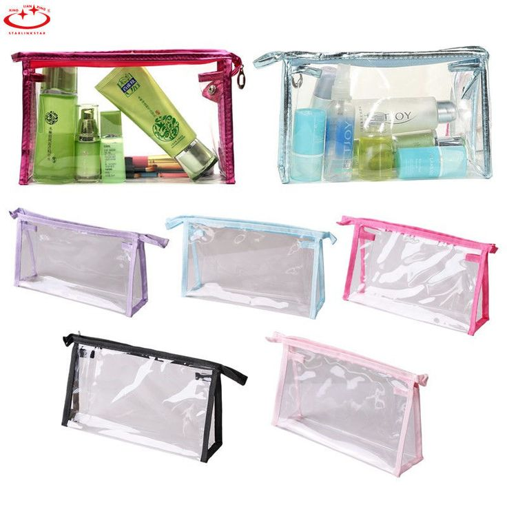 Best 25 Clear Toiletry Bag Ideas On Pinterest Travel