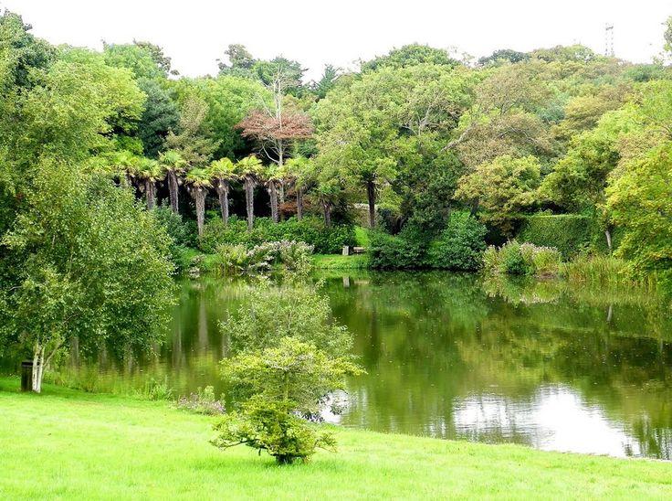 Flamanville - Le parc du château Basse-Normandie
