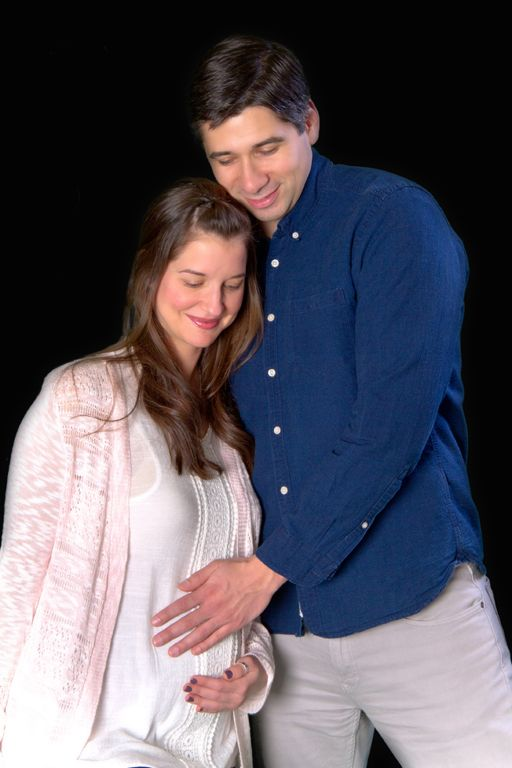 """""""Happy Family"""" <3 Portrait Creations Professional Maternity Portraits in Charlotte, NC."""