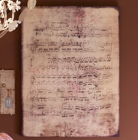 Sheet Music Wall Art 193 best music notes images on pinterest | music, music notes and
