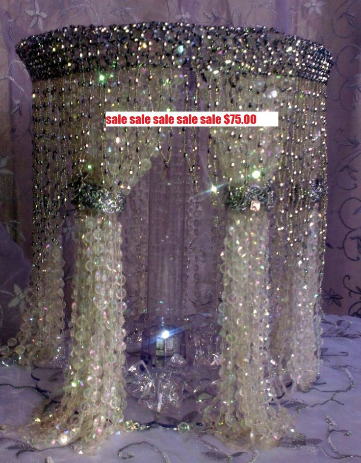 Crystals/Chandelier Cake Stand/ Wedding crystal cake stand. It's a cake stand?