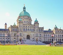 Parliament Building, Victoria, BC, Canada is the legislator building, a heritage site walking distance from your rentals. #vacation #walking #getaway