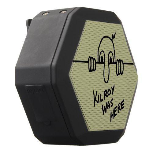 Kilroy Was Here Black Bluetooth Speaker