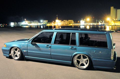 This cool Volvo started life as a 945 but now has 960 and V70 components morphed into it ...
