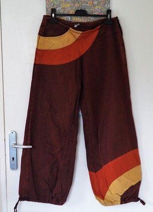 À vendre sur #vintedfrance ! http://www.vinted.fr/mode-femmes/pantalons-a-jambes-larges/50527918-pantalon-boule