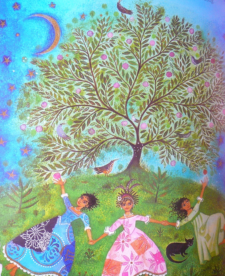 "another image from Jane Ray's ""the Apple-Pip Princess"", one of our very favorite children's books"