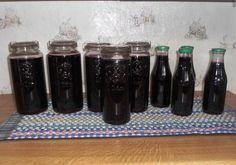 Oma Friedes Holunder - Brombeersaft - Ein kerngesunder Wintervorrat - Rezept von 1930