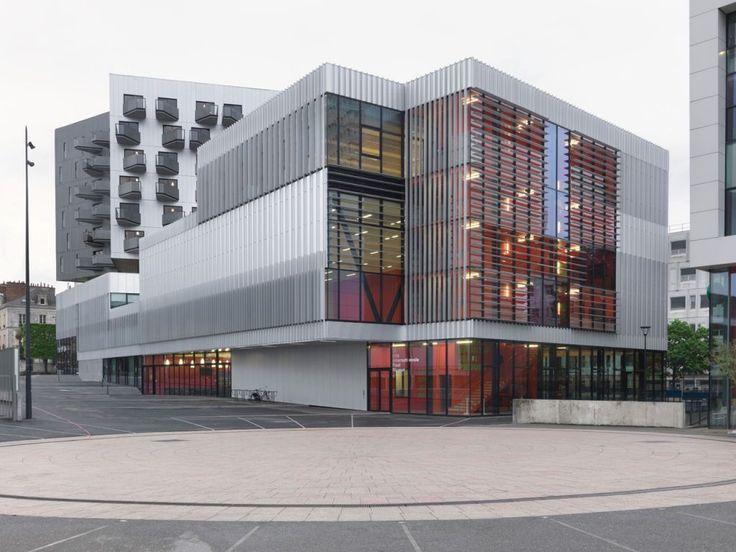 Arnod Architectes nous live la Cité Internationale Paul Ricoeur - Hérault, Rennes | #architecture #design #building #colorful #art