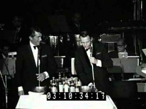 Frank Sinatra Dean Martin Sammy Davis Junior at the 1960 Sands Summit Closing Night 1