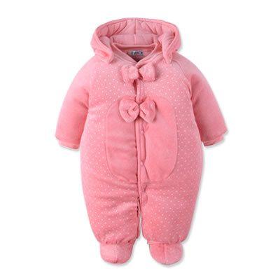 Ползунки, комбинезоны из Китая :: Детские осенние baby onesies утолщенные новорожденного осень/зима одежда костюм для мужчин и женщин пальто теплое детское платье.