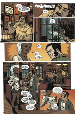 I'm so getting this series! My comic dreams come true!  Exclusive Marvel preview: Storm and Wolverine hit the dance floor in Storm #2 · Newswire · The A.V. Club