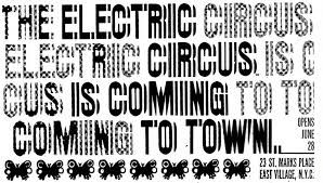 Image result for fonts used by the circus