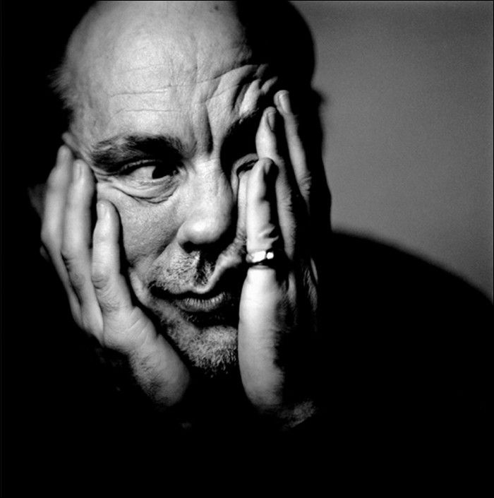 The favorite part of movie is have someone like him one eyeland actor john malkovich photographer sandro miller