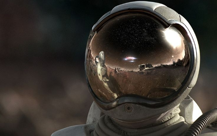 Image result for astronaut helmet reflection