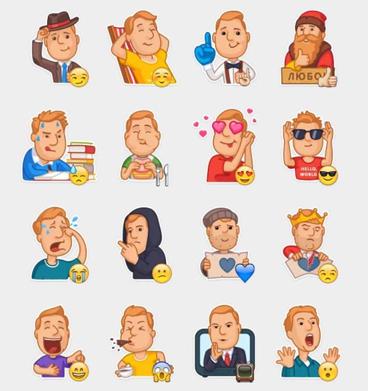 Leva VK Stickers Set | Telegram Stickers