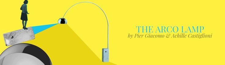 The Arco lamp by Pier Giacomo  Castiglioni