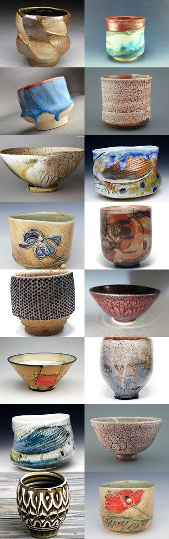 "Religion of the Art of Life by allan elliott on Etsy--Pinned+with+TreasuryPin.com | Tea Bowls | Teabowls | Chawan | Yunomi | Japanese Tea Ceremony | ""If you are cold, tea will warm you; if you are too heated, it will cool you; If you are depressed, it will cheer you; If you are excited, it will calm you.""  ― William Ewart Gladstone"