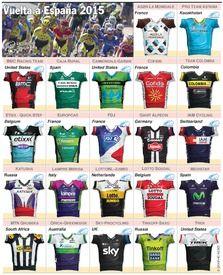 CYCLING: La Vuelta a España 2015 teams