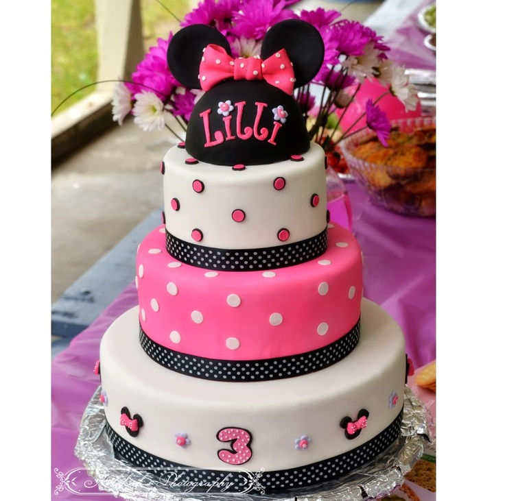 17 best Minnie Mouse Cake images on Pinterest Minnie mouse cake