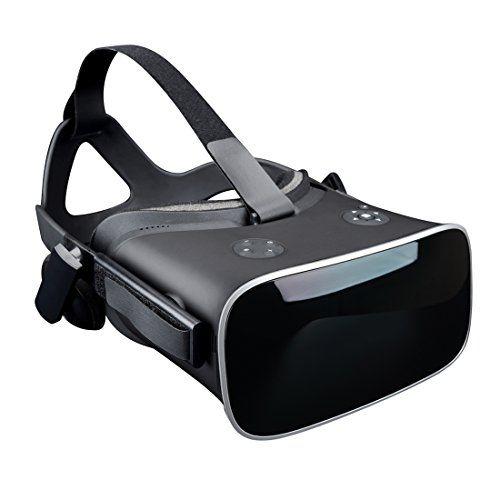 Gafas 3D VR Todo en uno Realidad virtual Auriculares Caja VR Androide 55 pulgadas Resolución 2560  1440P Videojuegos Cámara 360 Para PS4 Google Play Card con 2.4G inalámbrico Hdmi Bluetooth BENEVE (sin necesidad de teléfono)