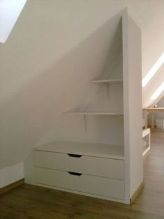 Image result for easy storage in attic sidewalls -…
