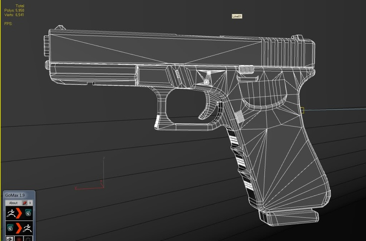 http://i226.photobucket.com/albums/dd125/dfalzone/Glock.jpg    Another pistol I pinned, similar to my work as I have created an M9 Model, but this is more detailed and based off the weapon a 'Glock'