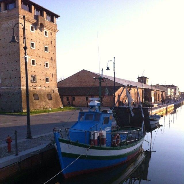 Cervia con la luce del crepuscolo #cervia #italy #ig_ravenna #igemiliaromagna #turismoer #love_emiliaromagna by monicabaggiarini
