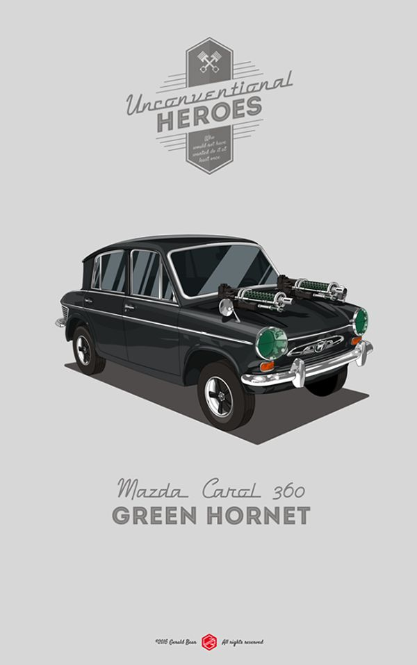 UnconventionalHeroes - Green Hornet on Behance