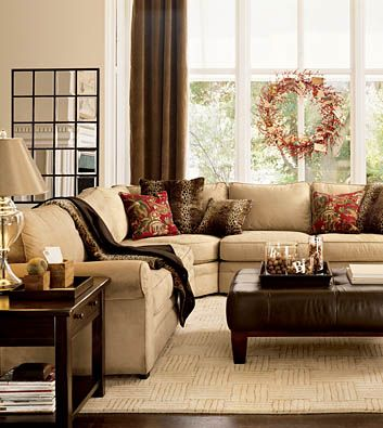 Living Room Designs Brown Furniture