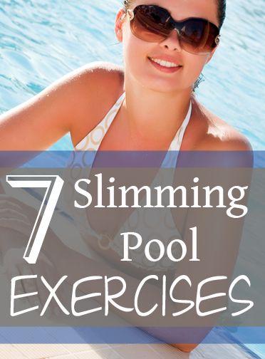 7 Slimming Pool Exercises
