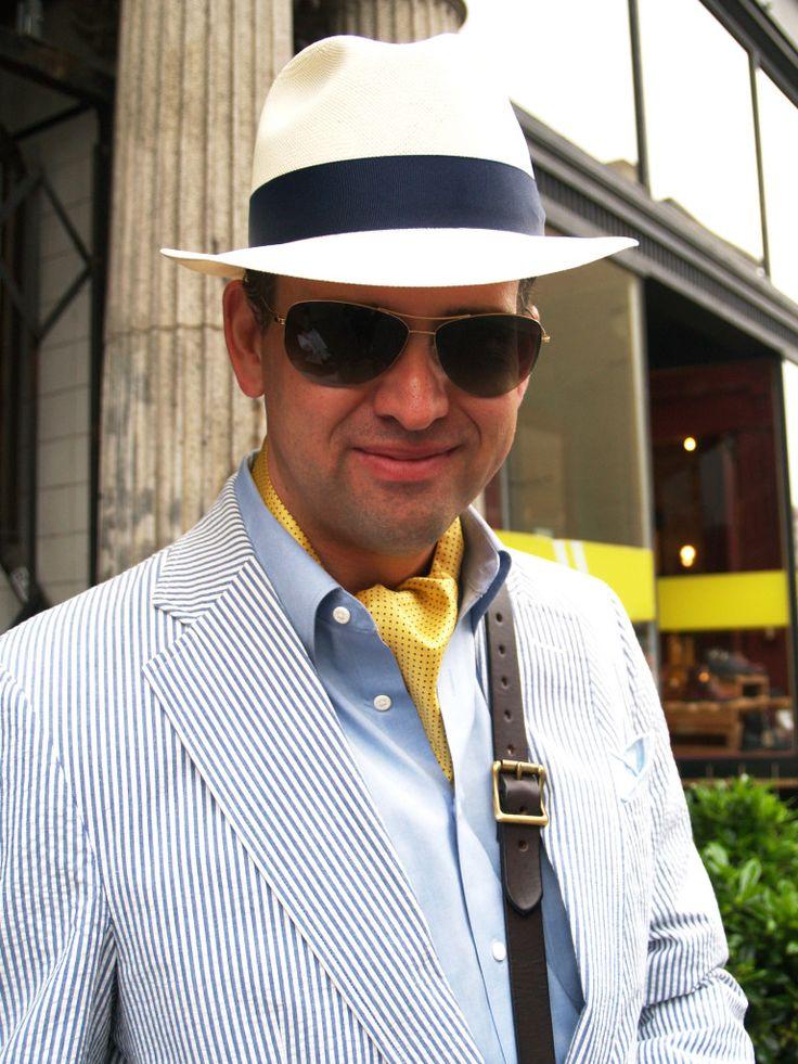 Searsucker Suit Jacket Close Up_EDITED