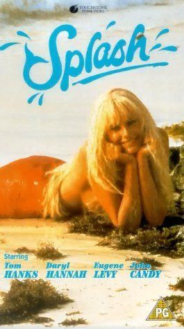 Splash. Loved this movie.  I thought I could be a mermaid too.