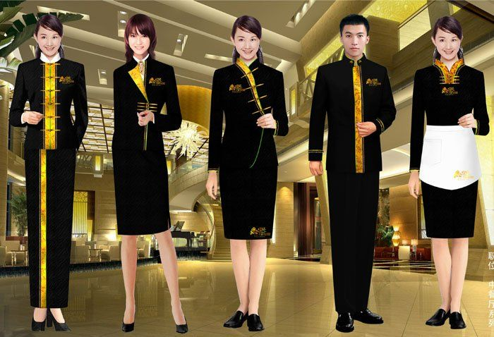 1000 images about corporate uniform on pinterest for Spa uniform bangkok