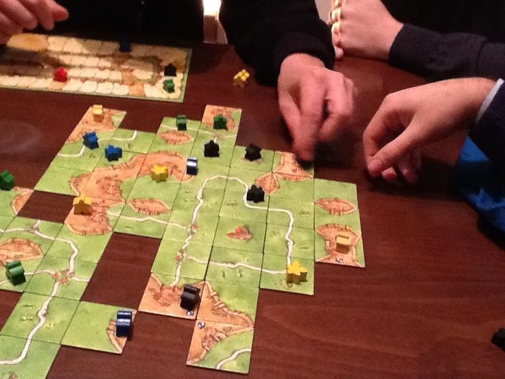 Torneo di Carcassonne  #boardgames