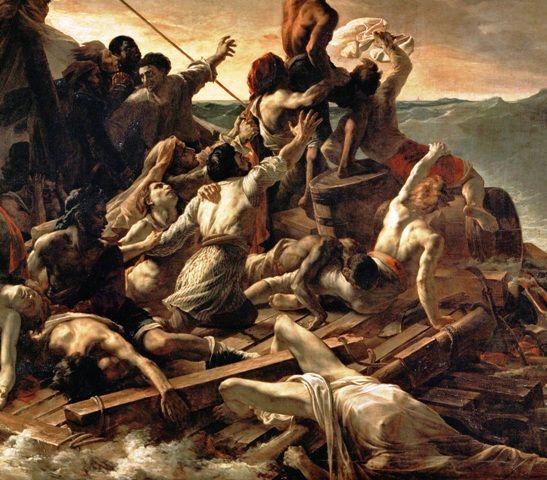 Η τραγωδία εκτός από τραγουδάκι έγινε και πίνακας που εκτίθεται στο Λούβρο
