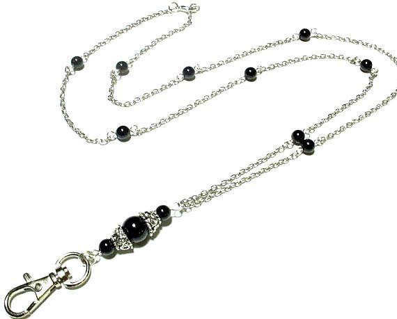 Women's Fashion ID Badge Holder Lanyard Necklace Lanyard