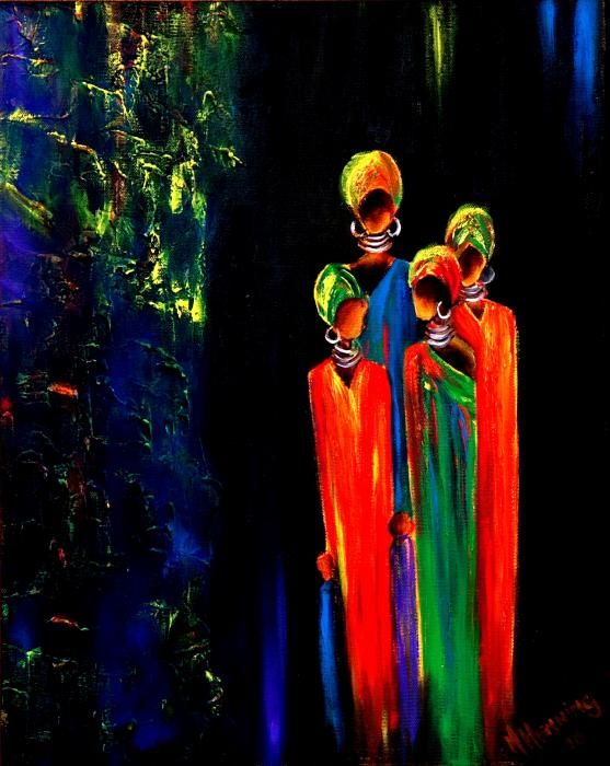 """"""" Proudly South African Women 2 """" Marietjie HENNING, South African artist"""