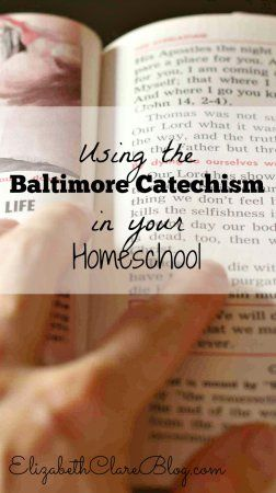 How can we homeschool our children and give them a solid grounding in the Catholic faith?  Using the Baltimore Catechism is a great place to start.  Here is how to incorporate it in your homeschool religion curriculum!