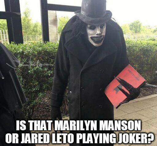 https://es.johnnybet.com/codigo-promocional-wcasino?fancy=1#picture?id=10179 #marilynmanson #jaredleto #joker #creepy #funnypics