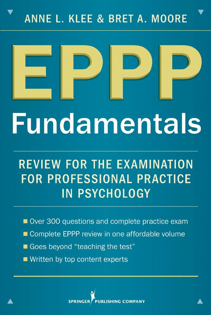 Free eppp study guides