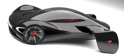 mclaren jetset marianna merenmies electric vehicle single seat car supercar sports car concept car future car ev futuristic car eco car - Sports Cars Of The Future