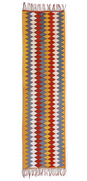 Our Textile: Rangrang - Ceremonial Shoulder Cloth (2006) - Threads of Life  Woven by Ni Nyoman Seru of Ampel Village Nusa Penida