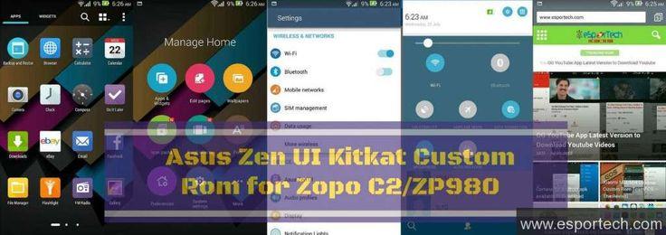 Asus Zen UI Kitkat Custom Rom for Zopo C2/ZP 980