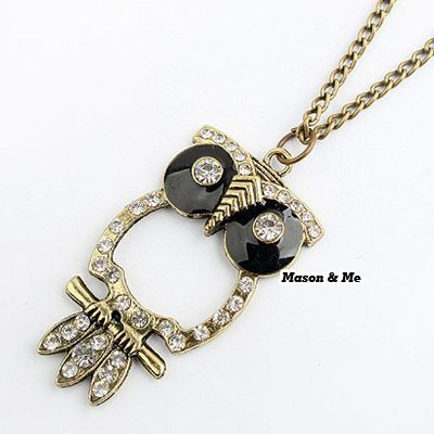 Korean Fashion Hollow Out OWL Decorated With Rhinestones Sweater Chain General. Small and catchy. REPIN if you like it. Only 35.5 IDR